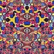 The Joy Of Design Mandala Series Puzzle 3 Arrangement 6 Art Print