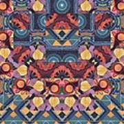 The Joy Of Design Mandala Series Puzzle 5 Arrangement 1 Art Print