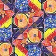 The Joy Of Design Vll Arrangement Joyful Entanglements Art Print