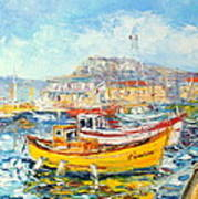 The Kalk Bay Harbour Art Print