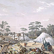 The Kapunda Copper Mine, From South Art Print