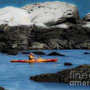 The Kayaker Art Print