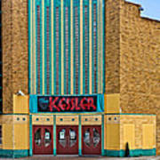 The Kessler Movie Theater Art Print