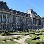 The King's Palace In Brussels Art Print