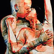 The Kiss Art Print by Graham Dean
