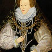 The Kitchener Portrait Of Queen Art Print