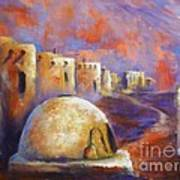 The Horno At Acoma Art Print