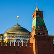 The Kremlin Senate Building - Square Art Print