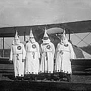 The Ku Klux Klan, One With Flight Art Print