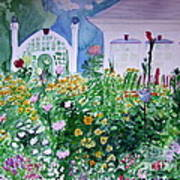 The Laine Garden Art Print