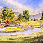 The Lake District - Slater Bridge Art Print