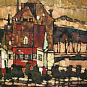The Lake House Print by Anastasija Kraineva