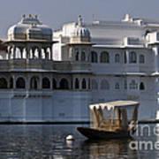 The Lake Palace, India Art Print