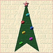 The Language Of Christmas Art Print