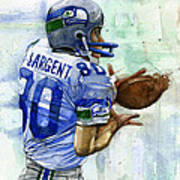 The Largent Art Print by Michael  Pattison