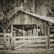 The Last Barn Art Print