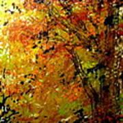 The Last Days Of Autumn Art Print