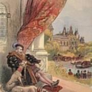 The Last Days Of Francis I Art Print
