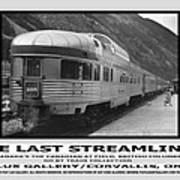 The Last Streamliner Poster Art Print