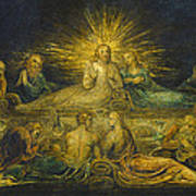The Last Supper Art Print by William Blake