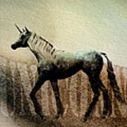 The Last Unicorn Art Print by Bob Orsillo