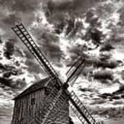 The Last Windmill Art Print