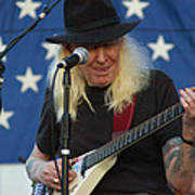 The Late Great Johnny Winter Art Print