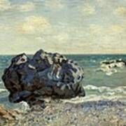 The Laugland Bay Print by Alfred Sisley