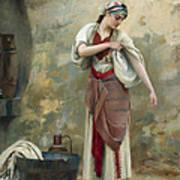 The Laundress Art Print