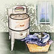 The Laundry Room Art Print