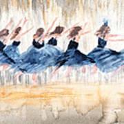The Leap Art Print
