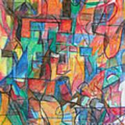 The Letter Tav 2 Art Print