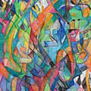 the letter Tzadi 2 Art Print