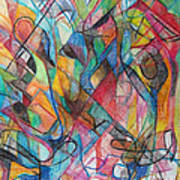 The Letter Yud 2 Art Print