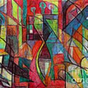 The Letter Zayin Art Print