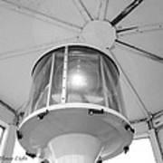 The Light At Fort Gratiot Light House Art Print