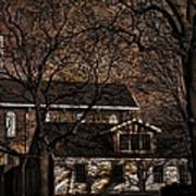 The Lights Went Out In Platte Art Print