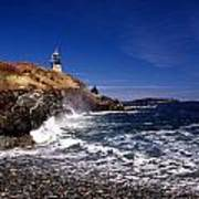 The Ligthouse At West Quoddy Art Print