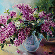 The Lilac On The Window Art Print