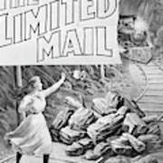 The Limited Mail, 1899 Art Print