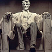 The Lincoln Memorial Art Print by Daniel Chester French
