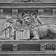 The Lion Of Saint Mark Art Print by Lee Dos Santos