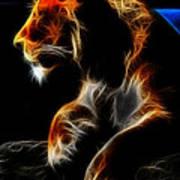 The Lioness Alt Art Print