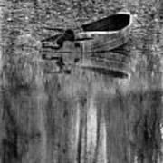 The Little Boat Photoart Art Print