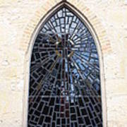 The Little Church Window Art Print