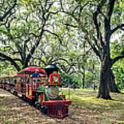 The Little Engine That Could - City Park New Orleans Art Print