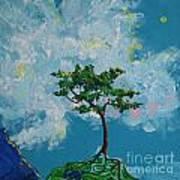 The Little Grove - Little Tree Art Print