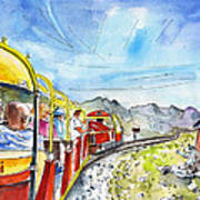 The Little Train Of Artouste Art Print