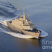 The Littoral Combat Ship Art Print