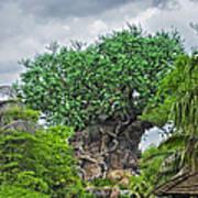 The Living Tree Walt Disney World Art Print